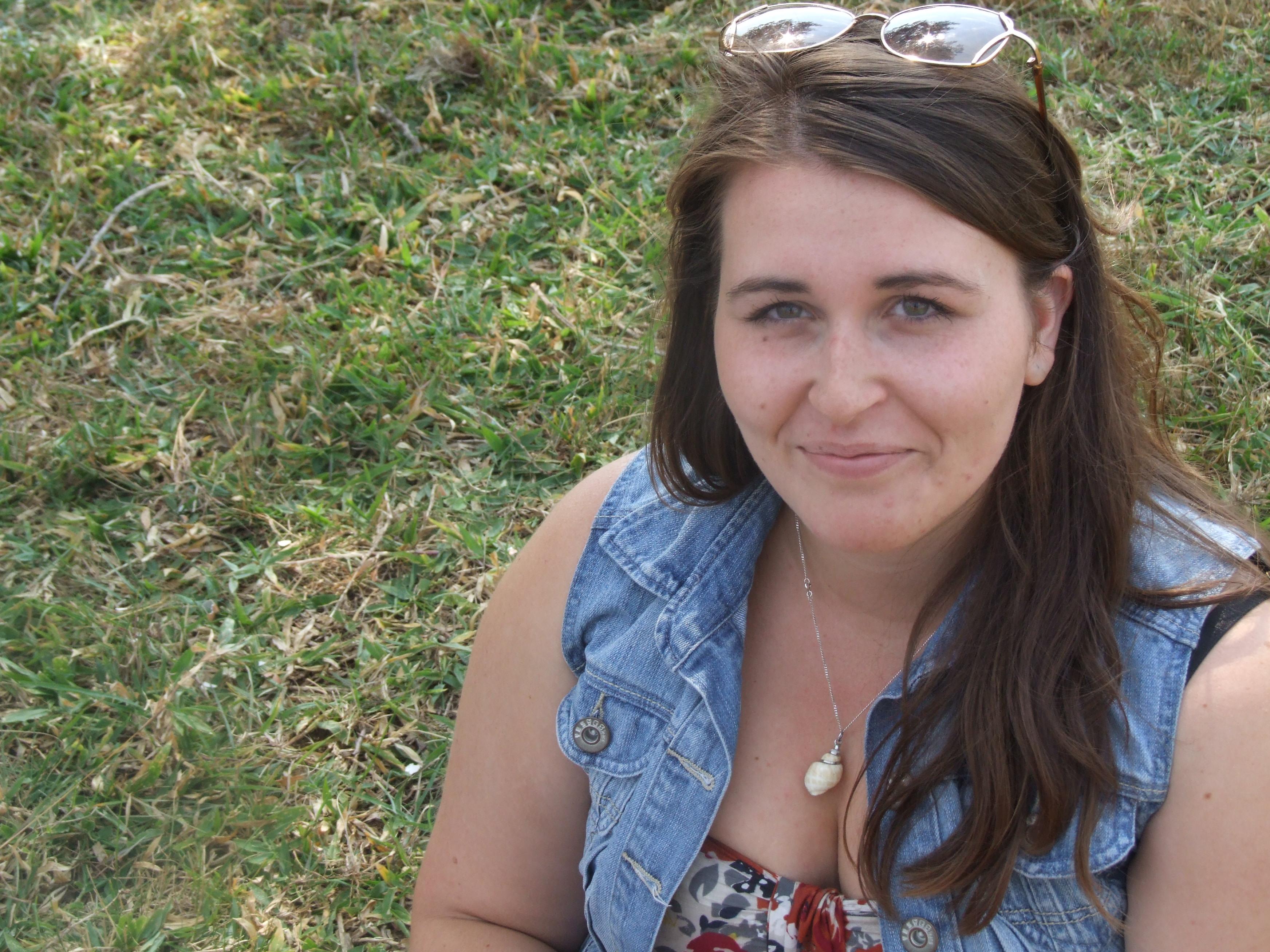 Heather Yeadon in Rwanda