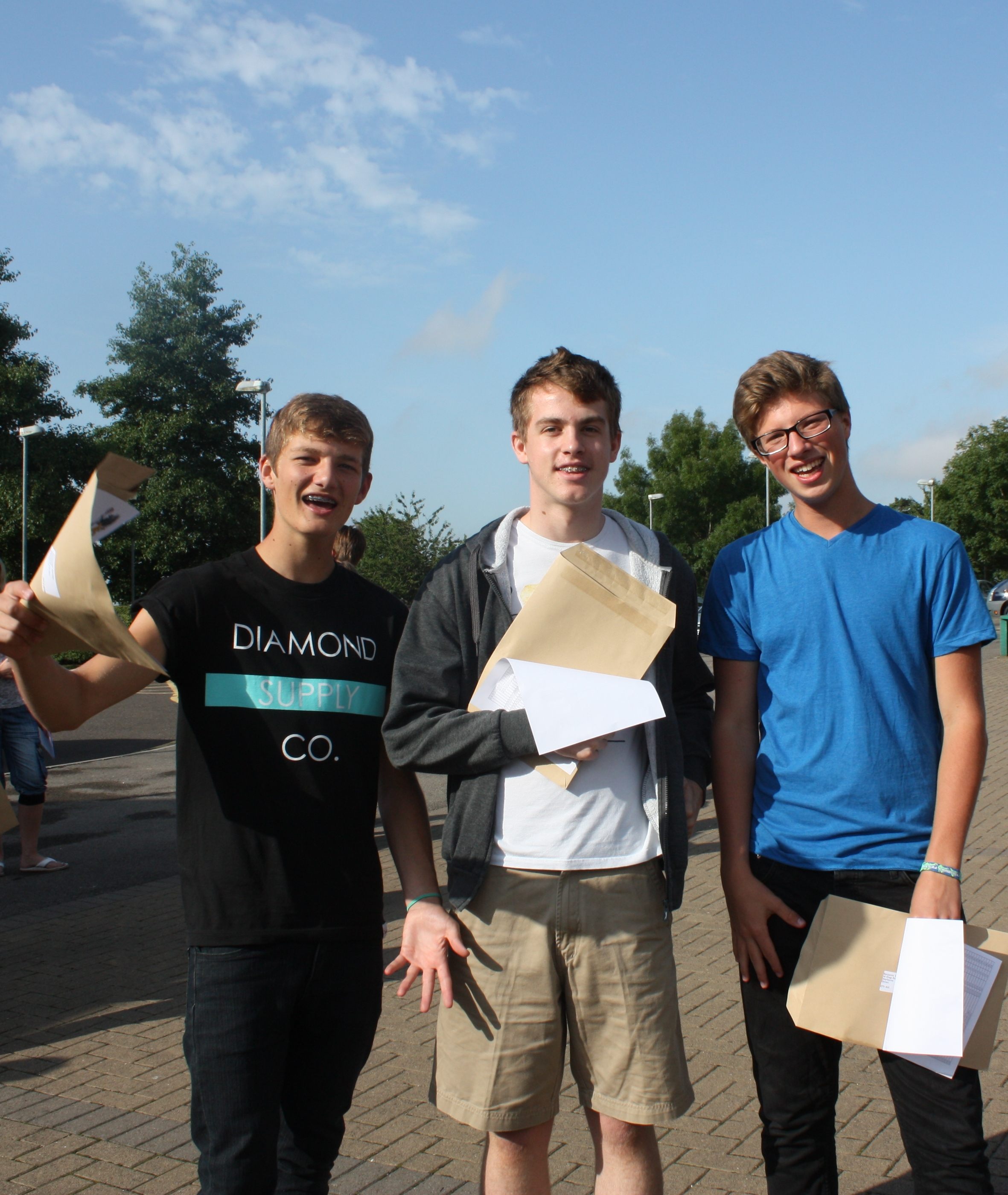 GCSE students cropped