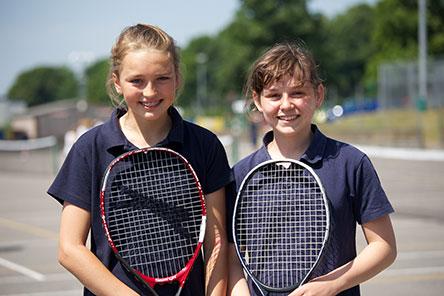 Gryphon School - Tennis Girls