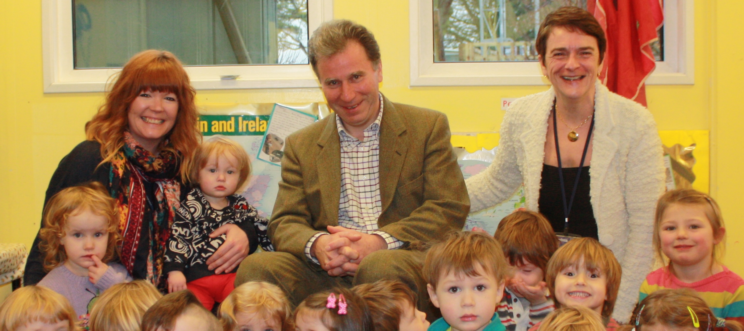 Oliver Letwin visits Little Gryphons