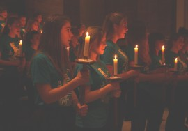 Choir with candles 2