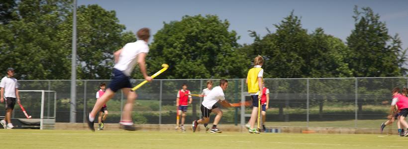 Gryphon School Hockey Pitch