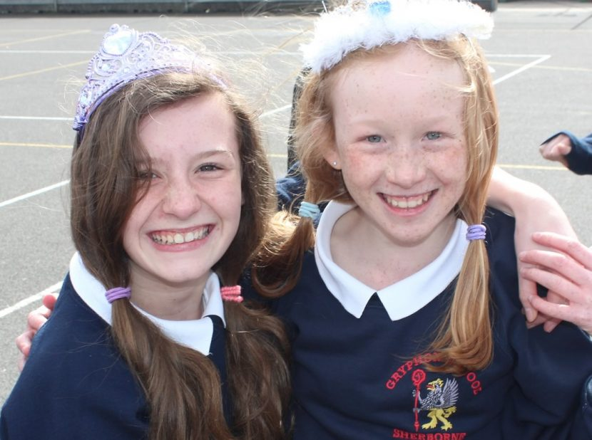 Amelia Dewfall and Hannah Dewberry Year 8